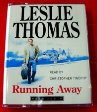 Leslie Thomas Running Away 2-Tape Audio Book Christopher Timothy