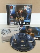 Tomb Raider Chronicles Sony PS 1 Playstation 1 Video Game With Manual