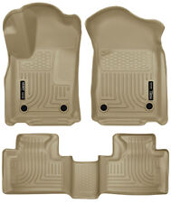 Husky Liners Tan Car Floor Mat Rubber Carpet For Jeep 16-17 Grand Cherokee