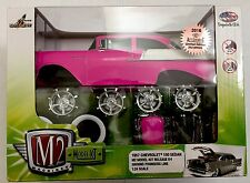 M2 Auto Experience Convention Hot Pink '57 Chevy.. Convention Exclusive 1 of 252
