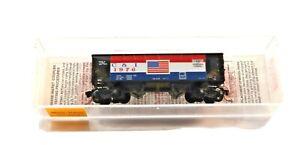 N Scale Micro Trains Cambria & Indiana Twin Bay Hopper 1976  in Plastic Case