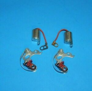 Two New Sets of Points and Condenser for MGA MGB Midget 1955-1974 25D DM2 22D