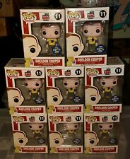 1 SDCC 2012 FUNKO POP TV THE BIG BANG THEORY SHELDON COOPER HAWKMAN SHIRT RARE!