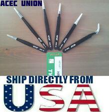 U.S. SELLER - 6pcs Anti-magnetic VETUS Tweezer Maintenance Tools ESD10-ESD15