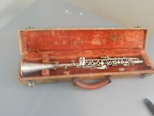 """Vintage Clarinet Collegiate by Holton 23"""" Metal Prop from TNT The Librarians"""