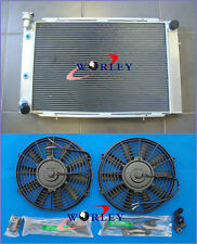 For HOLDEN WB STATESMAN UTE SEDAN 253 & 308 V8 1980-1984 Aluminum Radiator & Fan