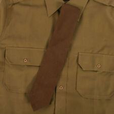 Replica WW2 US Officers Chocolate Brown Tie A Class AG828