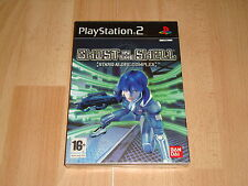 GHOST IN THE SHELL STAND ALONE COMPLEX DE CAVIA PARA SONY PS2 NUEVO PRECINTADO