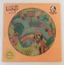 VTG 1971 Bengji And His Friends Phono Picture Disc Record Album