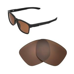 New Walleva Brown Polarized Replacement Lenses For Oakley  Catalyst Sunglasses