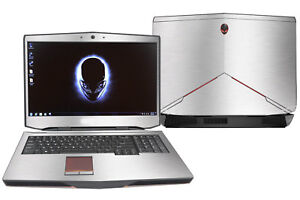 KH Laptop Carbon Sticker Skin Cover Protector for Alienware 17 M17x R2 R3 2015