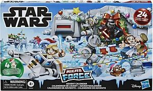 Hasbro Micro Force Mini Figures STAR WARS CHRISTMAS ADVENT CALENDAR Fast UK Post