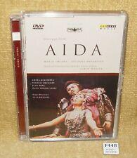 GIUSEPPE VERDI - AIDA (2000) - MARIA CHIARA - LUCIANO PAVAROTTI - RARE DVD