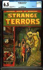 Strange Terrors 1 CGC 6.5 Golden Age Pre-Code Horror PCH Comic L@@K IGKC