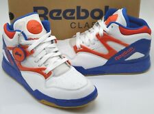 VNDS Reebok Pump Omni Lite Knicks White/Blue/Orange sz 12 Rare Retro Dee Brown