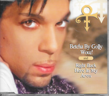 PRINCE - Betcha by Golly Wow! / Right back here in my arms CDM 2TR Holland 1996