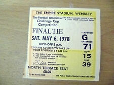 Tickets- 1970 FA Cup FINAL Ticket Arsenal v Ipswich Town (Exc, Org/Genuine*).