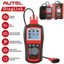 Autel Diaglink Obdii Code Reader Full Systems Diagnostic Scanner Md802 Abs Srs