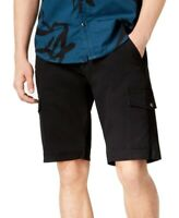 INC NEW Black Mens US Size 31 Super Stretch Cargo Button-Front Shorts $49 381