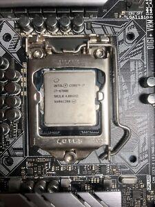 Intel 6th Gen Core i7-6700K 4.00 GHz LGA 1151 SR2L0 Quad-Core Processor Skylake