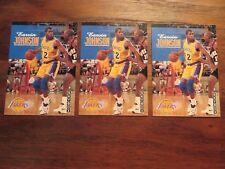 MAGIC JOHNSON basketball card lot (3) 1992-93 Skybox #358  Los Angeles Lakers