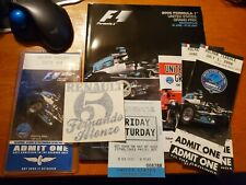 UNITED STATES GRAND PRIX 2006 FORMULA 1 INDIANAPOLIS Official Program + Tickets