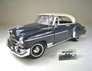MOTORMAX 1:24 Die Cast Metal 1950 Chevrolet Bel Air Deluxe - Excellent Cond