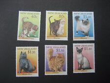 NEW ZEALAND 1998 CATS SET NHM SG2133/8