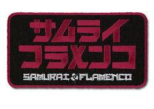 Samurai Flamenco Logo Patch ~ Officially Licensed ~ BRAND NEW