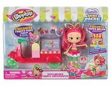 Shopkins PIPPA MELON'S FROSTY-POPS SCOOTER Family Mini Packs Doll Toy Playset
