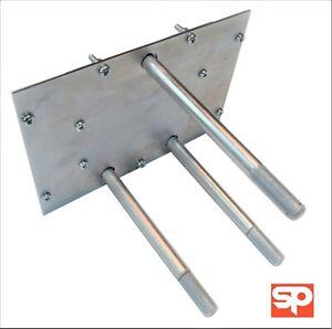 REAR DOOR SPARE WHEEL CARRIER MOUNT FOR LAND ROVER DEFENDER  90 110 TD5 83-02
