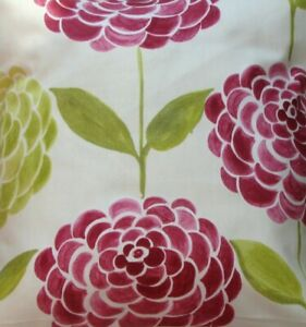 Chic 'Pink Peony' fabric