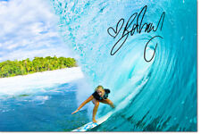 BETHANY HAMILTON PHOTO PRINT POSTER PRE SIGNED - 12 X 8 INCH   A+ QUALITY