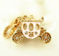 Princess Carriage Wedding New Cute Fashion Creative Crystal Pendent Charm Gift