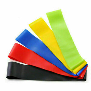 Resistance Bands for Legs and Glutes - 5 piece set