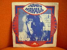 VINYL 45 T – JOHN MAYALL : DON'T WASTE MY TIME – PSYCH BLUES BOOM – 1969 POLYDOR