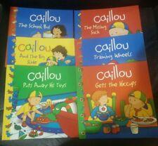 Caillou book set (6 paperbacks)