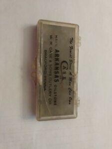 Vintage W. R. Case & Sons Cutlery CaseXX Hard Arkansas Oilstone