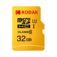 Kodak Micro SD Card 32GB TF Card Class10 C10 U1 Memory Card Fast Speed Z4S8
