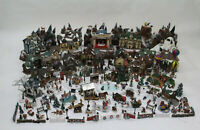 Christmas Village and Train Set
