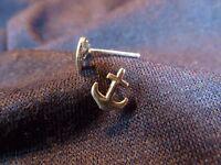 Anker Maritim Ohrstecker Ohrring 925 echt Silber OS 57
