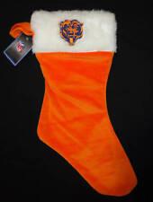 Chicago Bears   Christmas Stocking  Orange