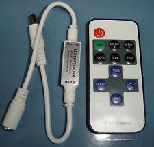 Dimmer strip striscia LED telecomando RF wireless controller light 12V 24V SMD