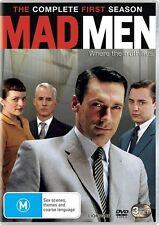 Mad Men : Season 1 DVD 3-Disc Set Region 4