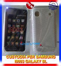 Pellicola+Custodia MESH BIANCHE per Samsung I9003 GALAXY SL