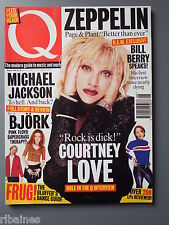 Q Music Magazine August 1995, Courtney Love/Michael jackson/Isaac hayes/Bjork