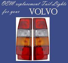 VOLVO WAGON 740 760 940 960 TAIL LIGHT PAIR 1985-1994 3518908 3518909