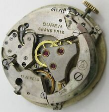 early Movement Buren 525 Automatic bumper 17 jewels for part or project .