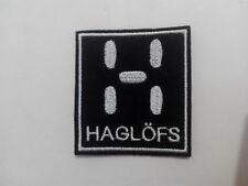 Parche bordado para coser estilo Haglofs 6/5,5 cm  adorno ropa personalizada