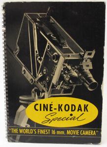 Kodak Cine Kodak Special Sales Presentation Book Booklet